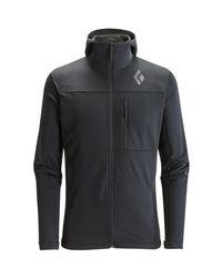 Black Diamond Black Coefficient Fleece Hooded Jacket for men