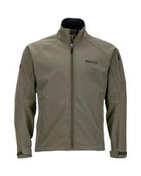 Marmot Green Gravity Softshell Jacket for men