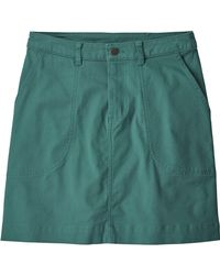 Patagonia Green Stand Up Skirt