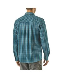 Patagonia Blue High Moss Long-sleeve Shirt for men