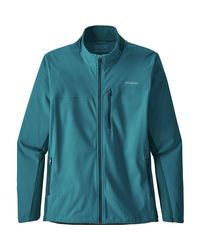 Patagonia Blue Wind Shield Jacket for men