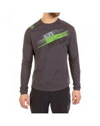 La Sportiva Gray Stripe Evo Long-sleeve Shirt for men