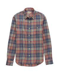 Faherty Brand Multicolor Seaview Shirt for men