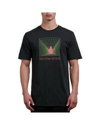 Volcom - Black Digi Short-sleeve T-shirt for Men - Lyst
