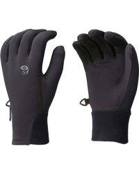 Mountain Hardwear Black Power Stretch Glove