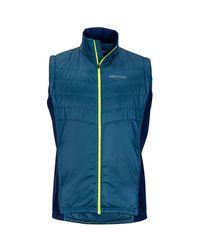 Marmot Blue Nitro Insulated Vest for men