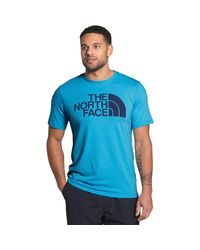 The North Face Blue Half Dome Tri-blend T-shirt for men
