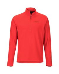 Marmot Red Rocklin 1/2-zip Fleece Jacket for men