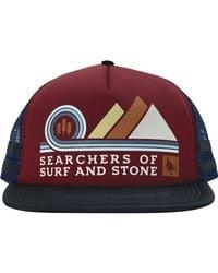 Hippy Tree Red Pinnacle Hat for men