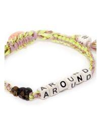 Venessa Arizaga - Pink 'monkey Around' Bracelet - Lyst