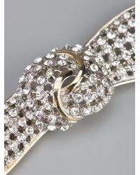 Valentino | Metallic Bow Brooch | Lyst