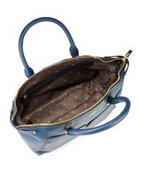 Vince Camuto | Blue Asha Leather Satchel | Lyst