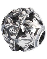 Trollbeads | Metallic Sterling Silver Spirtual Adornment Charm | Lyst