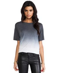 Saint Grace | Gray Carson Oversized Tee in Charcoal | Lyst