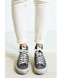Vans | Black Sk8-hi Overwashed Decon Sneaker | Lyst