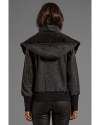Nicholas K Gray Von Sweater in Charcoal