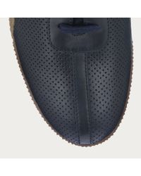 Bally Frenz Men ́s Leather Trainer In New Blue for men