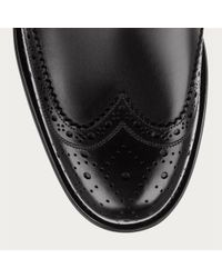 Bally Norsk Men ́s Leather Derby In Black for men
