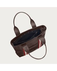Bally Brown Tacilo Men's Chocolate Leather Tote Bag for men