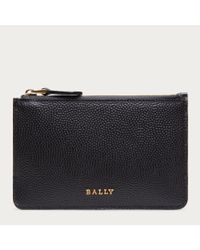 Bally Wigmore Women ́s Leather Key Holder In Black