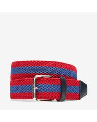 Bally   Red Perry 40 Belt   Lyst