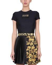 Versace Jeans Multicolor Crew Neck T-shirt