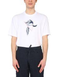 Z Zegna White Crew Neck T-shirt for men