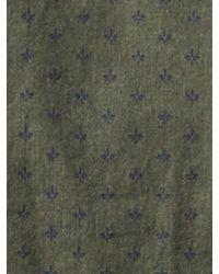 Banana Republic   Green Heritage Fleur De Lis Shirt for Men   Lyst