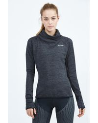 Nike | Black Therma Sphere Element Top | Lyst