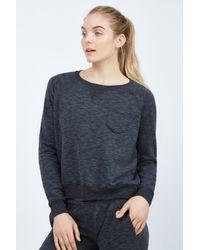 Todd Snyder Black Boyfriend Sweatshirt