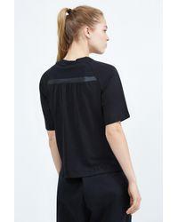 Nike - Black Sportswear Bonded Top - Lyst
