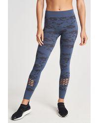 Adidas By Stella McCartney Blue Ess Sl Tight