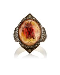 Sevan Biçakci - Multicolor Butterfly Intaglio Ring - Lyst