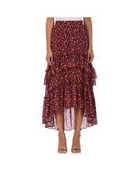 Ulla Johnson Red Maria Floral Cotton