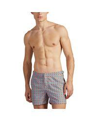 Orlebar Brown Gray Setter Nerissa-print Swim Trunks for men