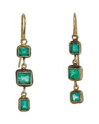 Judy Geib | Green Emerald Triple | Lyst