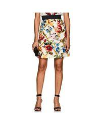 Dolce & Gabbana - Multicolor Garden-print Wool - Lyst