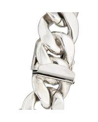Ann Dexter-Jones Multicolor Rose Gold & Sterling Silver Id Bracelet