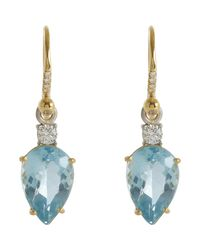 Irene Neuwirth | Blue Gemstone Drop Earrings | Lyst