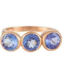 Irene Neuwirth   Blue Tanzanite Ring   Lyst