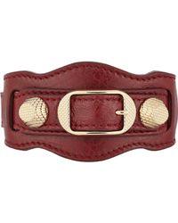 Balenciaga | Red Arena Giant Bracelet | Lyst