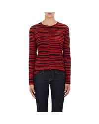 Proenza Schouler Red Tissue-weight Long-sleeve T