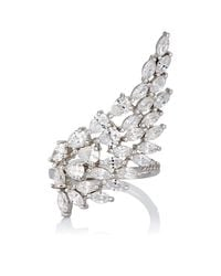Fallon | Multicolor Monarch Cluster Wing Ring Size 7 | Lyst