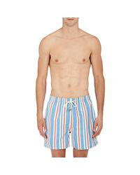 Solid & Striped | Blue the Classic Swim Trunks for Men | Lyst