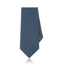 Brioni | Blue Square-print Silk Necktie for Men | Lyst