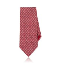 Brioni | Red Diamond Silk Jacquard Necktie for Men | Lyst