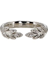 Cathy Waterman - Metallic Leafside Ring - Lyst