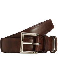 John Lobb - Brown Museum Leather Belt for Men - Lyst