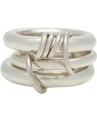 Spinelli Kilcollin | Metallic Sterling Silver hydra Ring for Men | Lyst