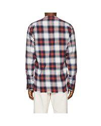 Greg Lauren - Multicolor Plaid Cotton Flannel Studio Shirt Size 1 for Men - Lyst